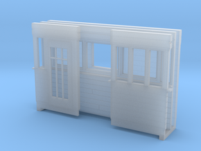 Weeghok Huis Klein H0 in Smooth Fine Detail Plastic