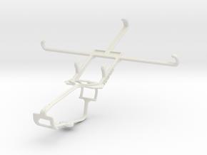 Controller mount for Xbox One & Lenovo Vibe Z2 Pro in White Natural Versatile Plastic
