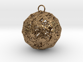 Invisible Ball in Natural Brass