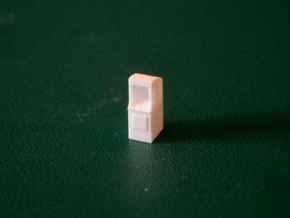 N-Scale Arcade Game in Smooth Fine Detail Plastic