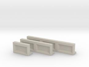 Bahnsteigkante 1-2-3 in Natural Sandstone
