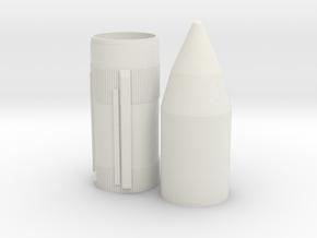 1/200 Skylab Shroud for Saturn V in White Natural Versatile Plastic