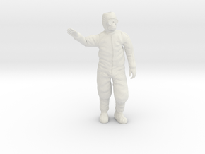 Clean Room Workman Nr. 4 / 1:20 in White Natural Versatile Plastic