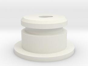 AA-Cell Battery Base in White Natural Versatile Plastic