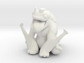 Kaiju Orichi in White Natural Versatile Plastic