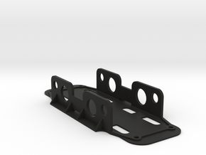 UNDERSLUNG BATTERY TRAY (15mm Velcro Version) for  in Black Strong & Flexible