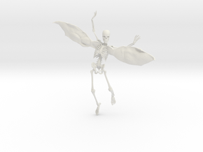 Fairy Skeleton - 8 Inches in White Strong & Flexible