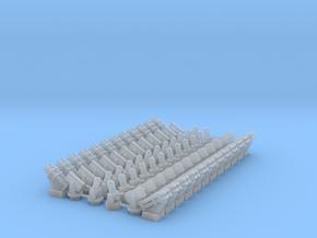 (1:285) CIWS+RAM+Harpoon (x12)(x2) in Smooth Fine Detail Plastic