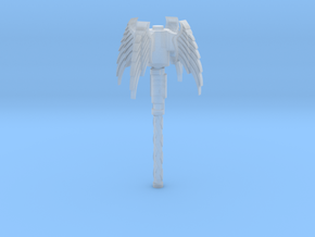 Angel Mace in Smooth Fine Detail Plastic