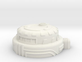Command Bunker in White Natural Versatile Plastic