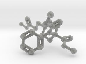 Remifentanil Molecule in Metallic Plastic