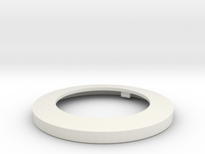Light Lens Mount One To One in White Natural Versatile Plastic