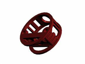GCM113-04-01 - R.I.C.E.™ Port Style1 holder in White Strong & Flexible
