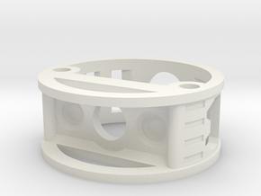 GCM113-04-01 - R.I.C.E.™ Port Style1 holder in White Natural Versatile Plastic