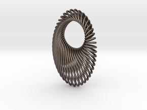 Ellipse in Polished Bronzed Silver Steel