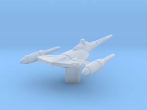 N-1 Naboo Starfighter (Damaged) 1/270  in Smooth Fine Detail Plastic