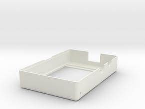 Raspberry Pi DIY Camera - Bottom in White Natural Versatile Plastic
