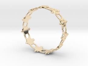 Turtles Bracelet in 14k Gold Plated Brass