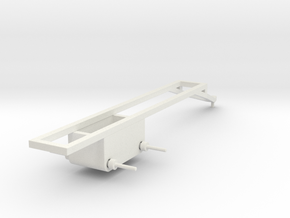 1/64 Pull type frame- long in White Natural Versatile Plastic