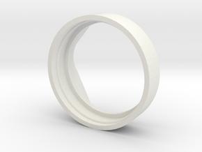 Mason Jar Pitcher in White Natural Versatile Plastic