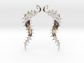 SeaBean Earrings in Platinum