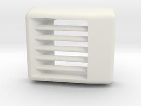 Aw11 Vent in White Natural Versatile Plastic
