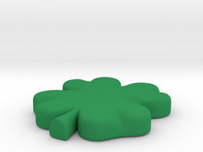 Clover in Green Processed Versatile Plastic