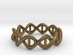 Ring DNA in Natural Bronze