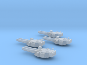 285 Mk IV Destroyer turrets in Smooth Fine Detail Plastic