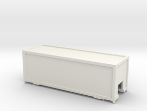 Container Cargo Sprinter v1 in White Natural Versatile Plastic