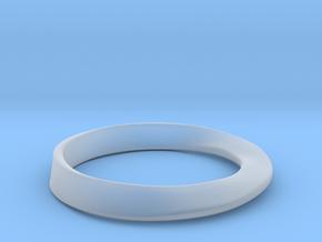 Möbius Ring in Smooth Fine Detail Plastic