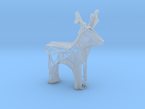 Reindeer toy stl in Smooth Fine Detail Plastic