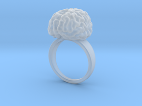 Intelligent Brain Ring in Smooth Fine Detail Plastic