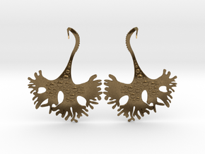 IrishMoss Earrings in Natural Bronze
