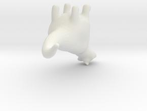 6780 in White Natural Versatile Plastic