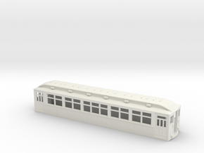 CTA/CRT 1789-1808 Series Wood Rapid Transit Car in White Natural Versatile Plastic