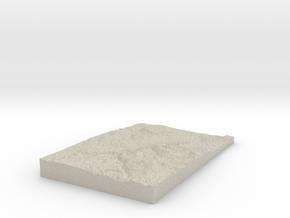 Model of Victoria in Natural Sandstone