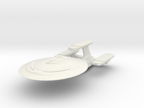 DeltaRam Class Refit Cruiser in White Strong & Flexible