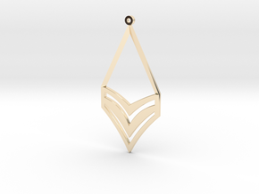 Fou Earrings in 14K Yellow Gold
