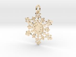 Crystal Slush Pendant in 14K Yellow Gold