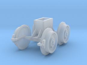 Zugfahrgestell für Rüstwagen in Smooth Fine Detail Plastic