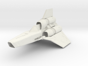 Colonial Viper II in White Strong & Flexible