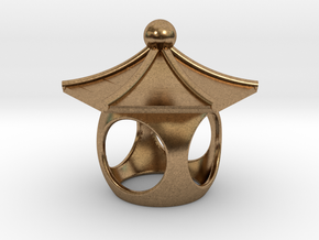 Spirit House - Curious in Natural Brass