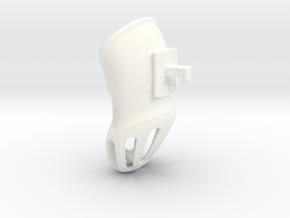 KHD V2 Summer Short - Diameter +8%, Length -20% hv in White Strong & Flexible Polished