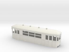 b Wiener Strassenbahn Beiwagen in White Natural Versatile Plastic