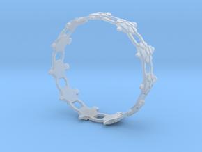 Turtles Bracelet in Smooth Fine Detail Plastic