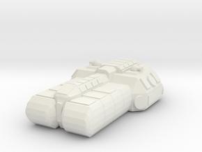 1/1000 Scale SoroSuub Nestt Light Freighter v2 in White Natural Versatile Plastic