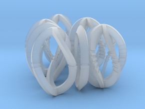 Modern Art Dice Set (D1-D7) in Smooth Fine Detail Plastic