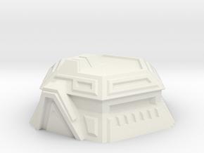 Sci-Fi Bunker in White Strong & Flexible