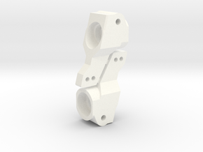NIX63651 Rear Hubs for RC10 in White Processed Versatile Plastic